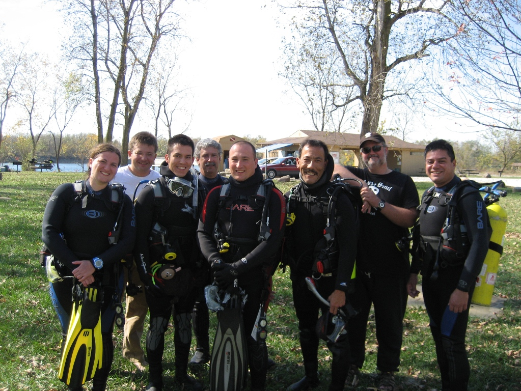 October Advanced Open Water Divers